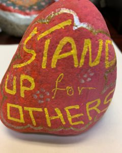 Kindness rocks - stand up for others