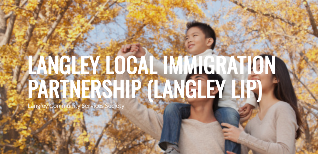 Are you an immigrant living in Langley, BC? Your input is needed!