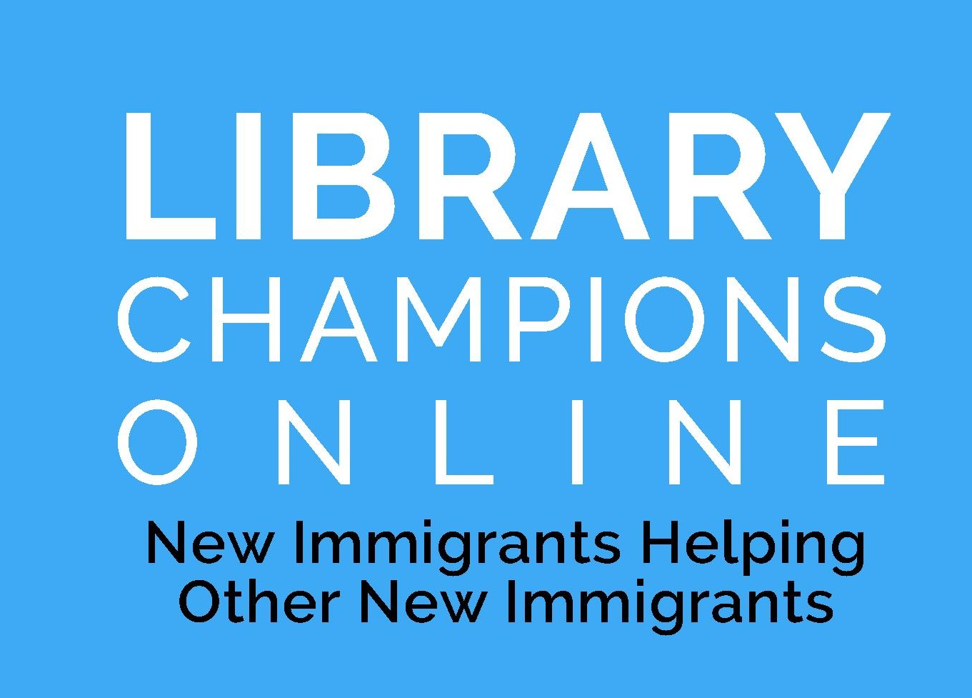 Featured image for Registrations for Library Champions Project are open