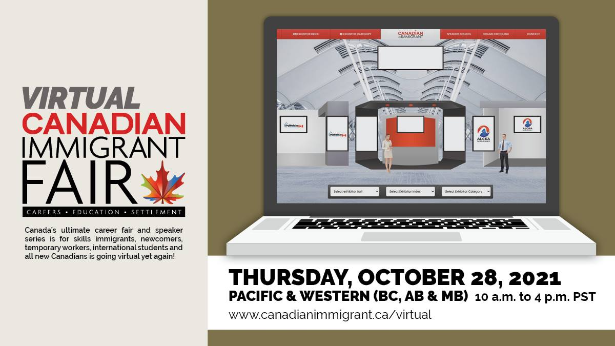 Featured image for Canadian Immigrant Virtual Fair